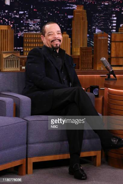Actor Ice T during an interview on March 15 2019