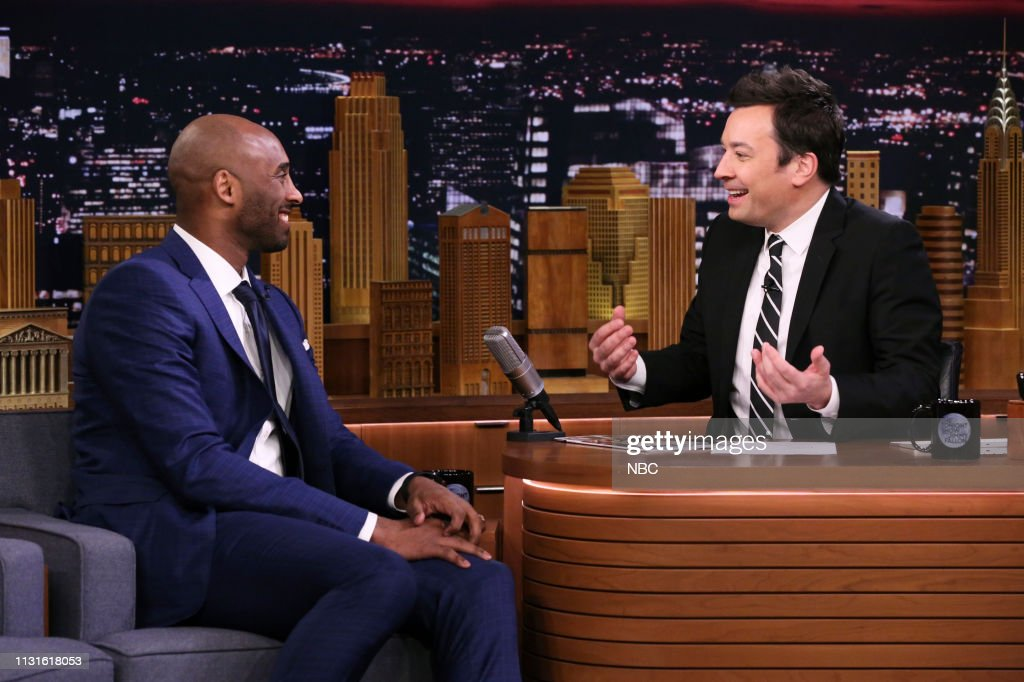 "NY: NBC'S ""Tonight Show Starring Jimmy Fallon"" With Guests Kobe Bryant, Aidy Bryant, Natalie Morales, FLETCHER, SIT-IN: MICK FLEETWOOD"