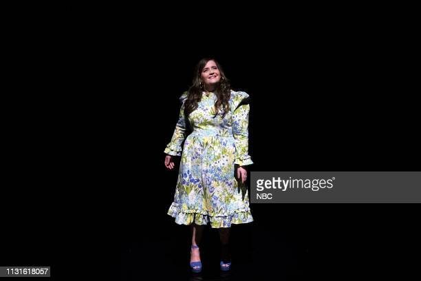 Comedian Aidy Bryant during 'Hey World' on March 19 2019