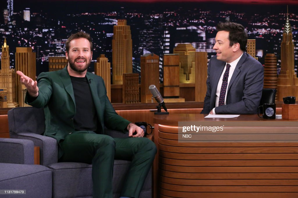 "NY: NBC'S ""Tonight Show Starring Jimmy Fallon"" With Guests Armie Hammer, Jemaine Clement, SCHOOLBOY Q with THE ROOTS"