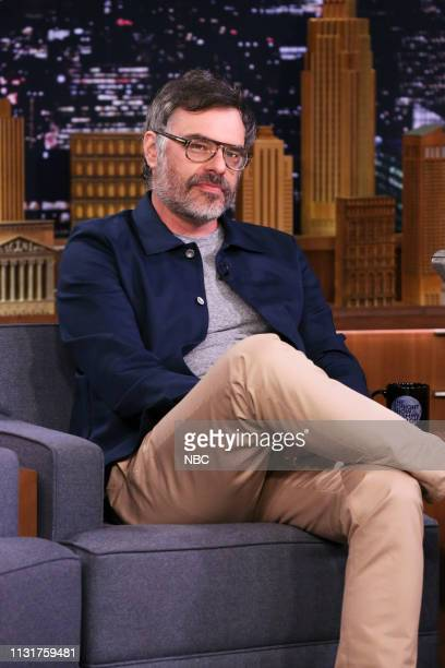 Episode 1034 -- Pictured: Comedian Jemaine Clement during an interview on March 20, 2019 --