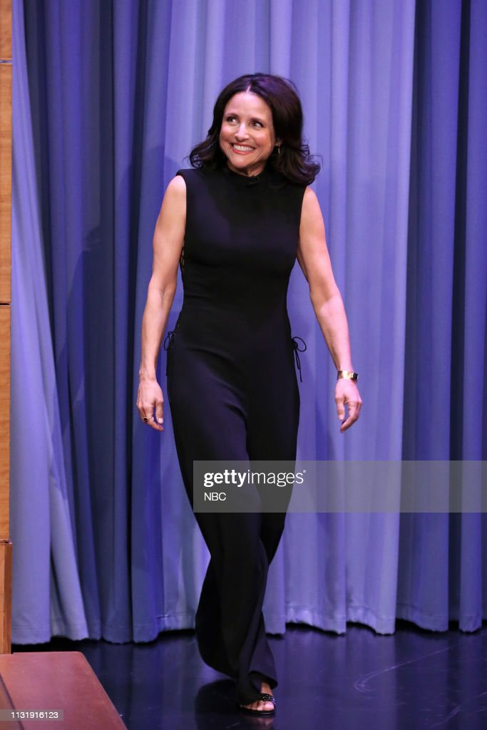 "NY: NBC'S ""Tonight Show Starring Jimmy Fallon"" With Guests Julia Louis-Dreyfus, Joel Kinnaman, A performance by the Broadway cast of AIN'T TOO PROUD"