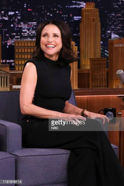 Actress Julia LouisDreyfus during an interview on March 21 2019