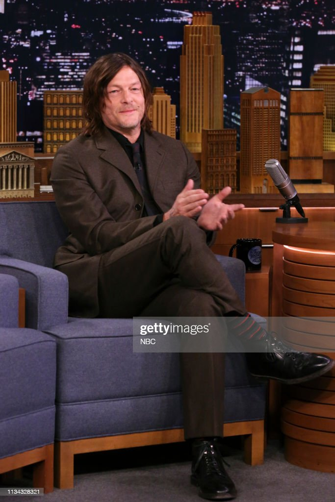 "NY: NBC'S ""Tonight Show Starring Jimmy Fallon"" With Guests Norman Reedus, Abbi Jacobson & Ilana Glazer, Mikaela Shiffrin, James Veitch"