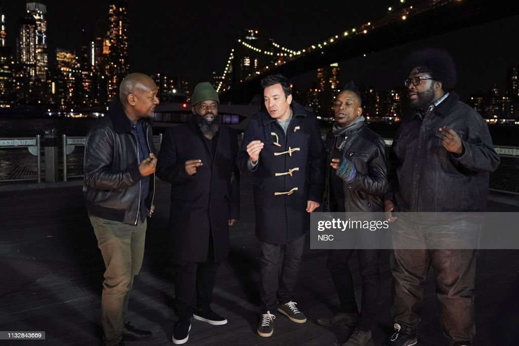 "NY: NBC'S ""Tonight Show Starring Jimmy Fallon"" With Guests Connor McGregor, Michael Che, Rachel Feinstein, Frank Pellegrino Jr."