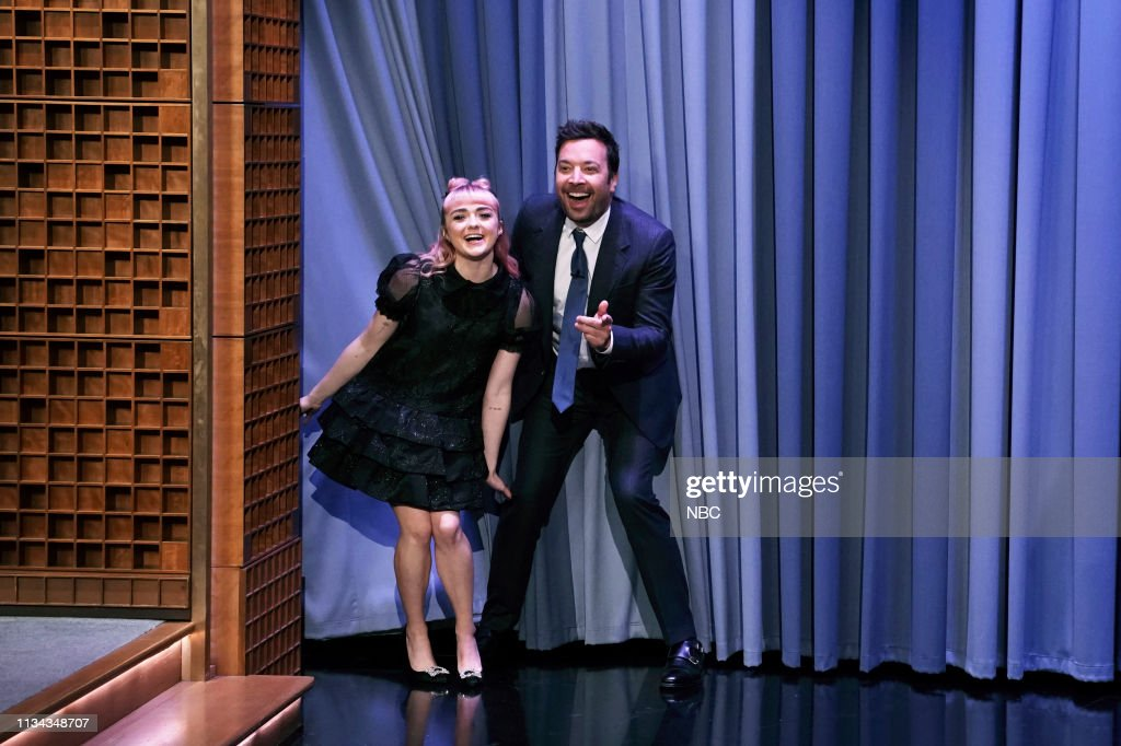 "NY: NBC'S ""Tonight Show Starring Jimmy Fallon"" With Guests Tracy Morgan, Maisie Williams, Patrick Mahomes, THE ZOMBIES"