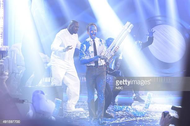 Shaquille O'Neal Neil Patrick Harris Blue Man Group