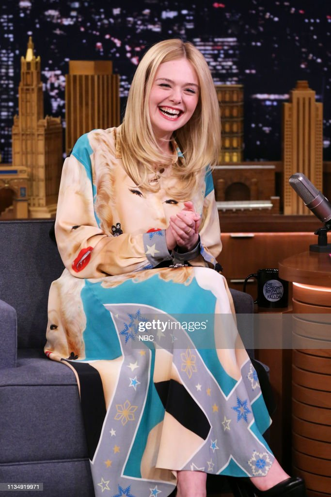 "NY: NBC'S ""Tonight Show Starring Jimmy Fallon"" With Guests Kit Harrington, Elle Fanning, KHALID"