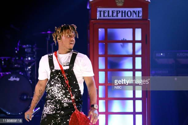 Musical guest Juice Wrld performs on April 8 2019