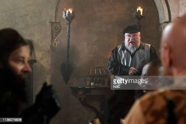 """Episode 1044 -- Pictured: Author George R.R. Martin during """"Game of Thrones Is Coming"""" on April 9, 2019 --"""