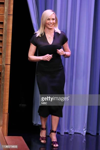 Comedian Chelsea Handler arrives to the show on April 9 2019