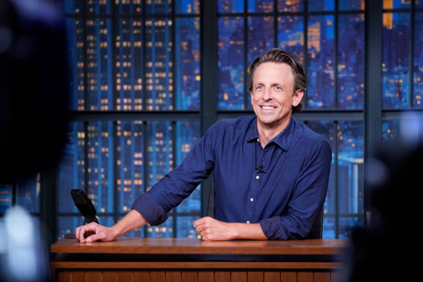 "NY: NBC'S ""Late Night With Seth Meyers"" With Guests Sarah Silverman, Lili Reinhart, PHOEBE BRIDGERS (Band Sit-In: Jessica Burdeaux)"