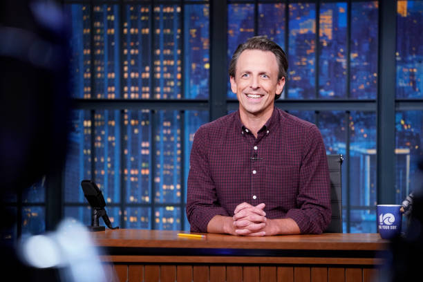"NY: NBC'S ""Late Night With Seth Meyers"" With Guests Cecily Strong, David Wright, Miranda July (Band Sit-In: Jessica Burdeaux)"