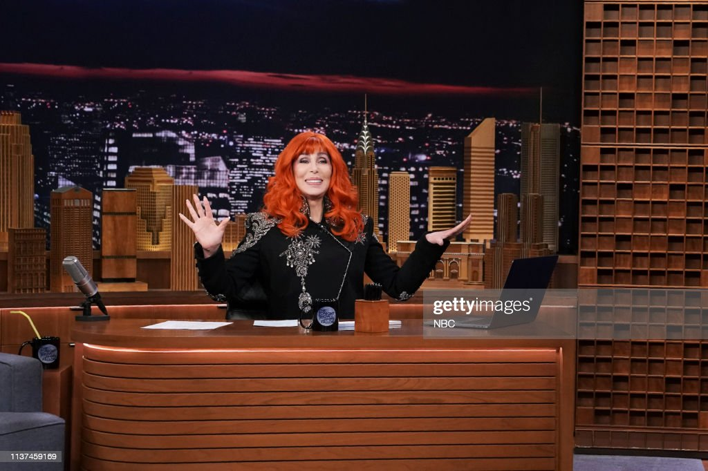 "NY: NBC'S ""Tonight Show Starring Jimmy Fallon"" With Guest Cher"