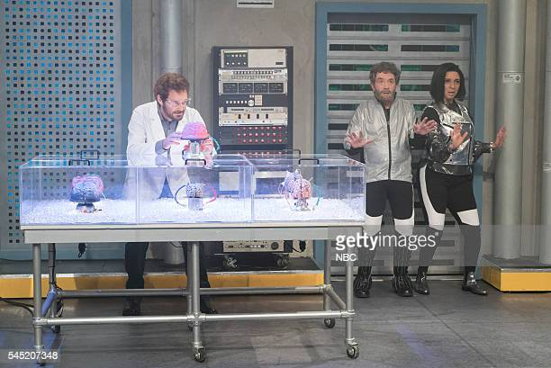 Will Forte as Charlie Martin Short as Charlie Maya Rudolph during the 'Time Traveling Narcissist' sketch on July 5 2016