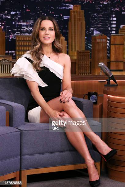 Actress Kate Beckinsale during an interview on April 17 2019