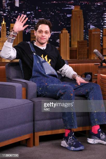 Comedian Pete Davidson during an interview on April 18 2019