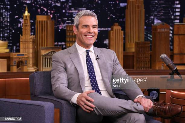 Talk Show Host Andy Cohen during an interview on April 18 2019
