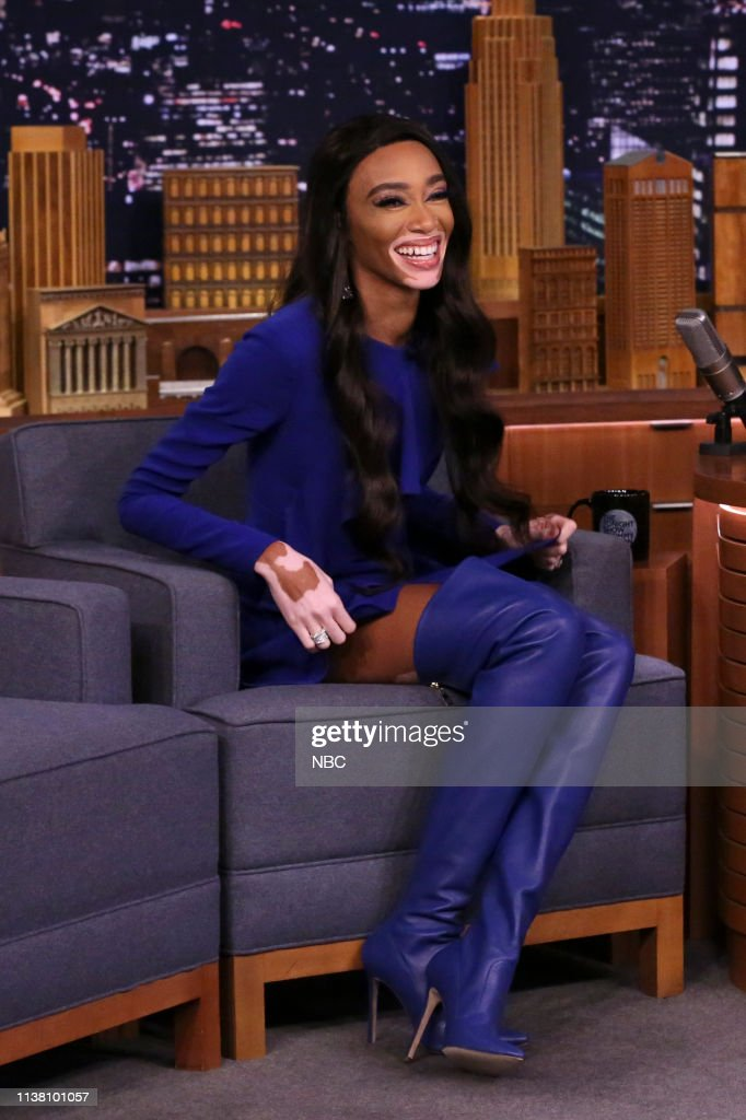 "NY: NBC'S ""Tonight Show Starring Jimmy Fallon"" With Guests Michael Shannon, Jane Goodall, Winnie Harlow, Jess Salomon"
