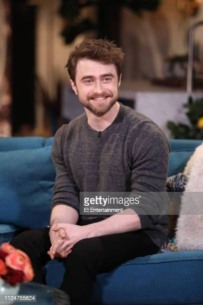 Episode 1053 -- Pictured: Guest Daniel Radcliffe on the set of Busy Tonight --