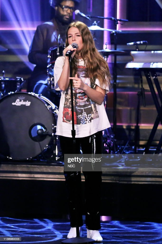 """NY: NBC'S """"Tonight Show Starring Jimmy Fallon"""" With Guests Dr. Phil McGraw, Sophia Bush, Tyler 'Ninja' Blevins, MAGGIE ROGERS"""