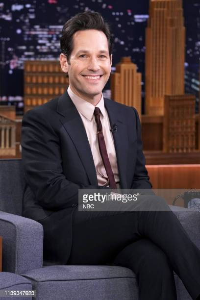 Actor Paul Rudd during an interview on April 25 2019
