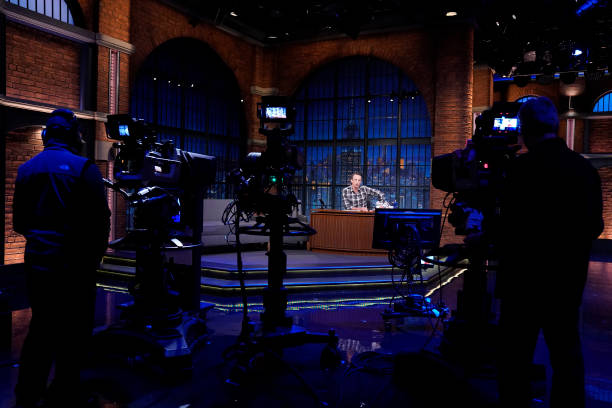 """NY: NBC'S """"Late Night With Seth Meyers"""" With Guests Natalie Portman, Cindy McCain, DAVE MATTHEWS"""