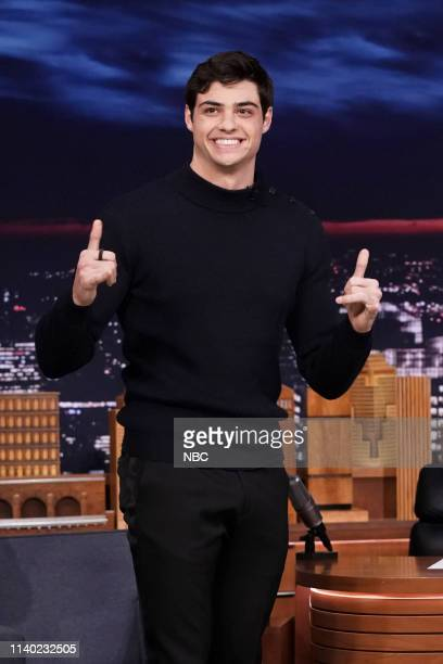 Actor Noah Centineo arrives to the show on April 29 2019