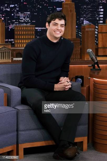 Actor Noah Centineo during an interview on April 29 2019
