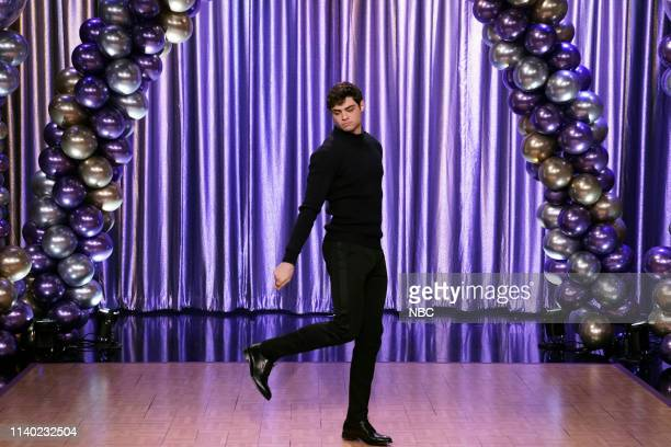 """Episode 1058 -- Pictured: Actor Noah Centineo during """"Dance Battle: High School Edition"""" on April 29, 2019 --"""