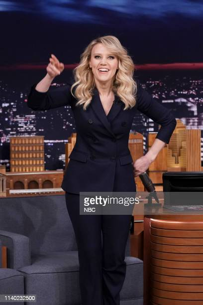 Comedian Kate McKinnon arrives to the show on April 29 2019