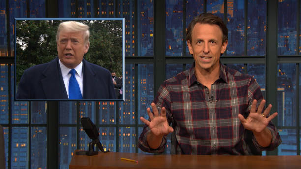 """NY: NBC'S """"Late Night with Seth Meyers"""" With Guests Bette Midler Bryan Washington"""