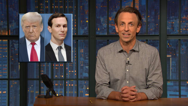 """NY: NBC'S """"Late Night With Seth Meyers"""" With Guests Sen. Bernie Sanders, Shepard Smith, SLEAFORD MODS"""