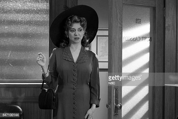 Maya Rudolph during the 'Burt Cassidy Gay Detective' sketch on July 12 2016