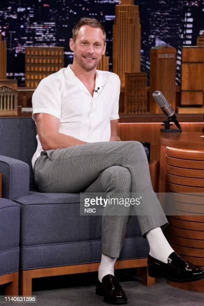 Episode 1060 -- Pictured: Actor Alexander Skarsgård during an interview on May 1, 2019 --