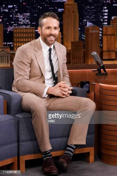 Actor Ryan Reynolds during an interview on May 2 2019