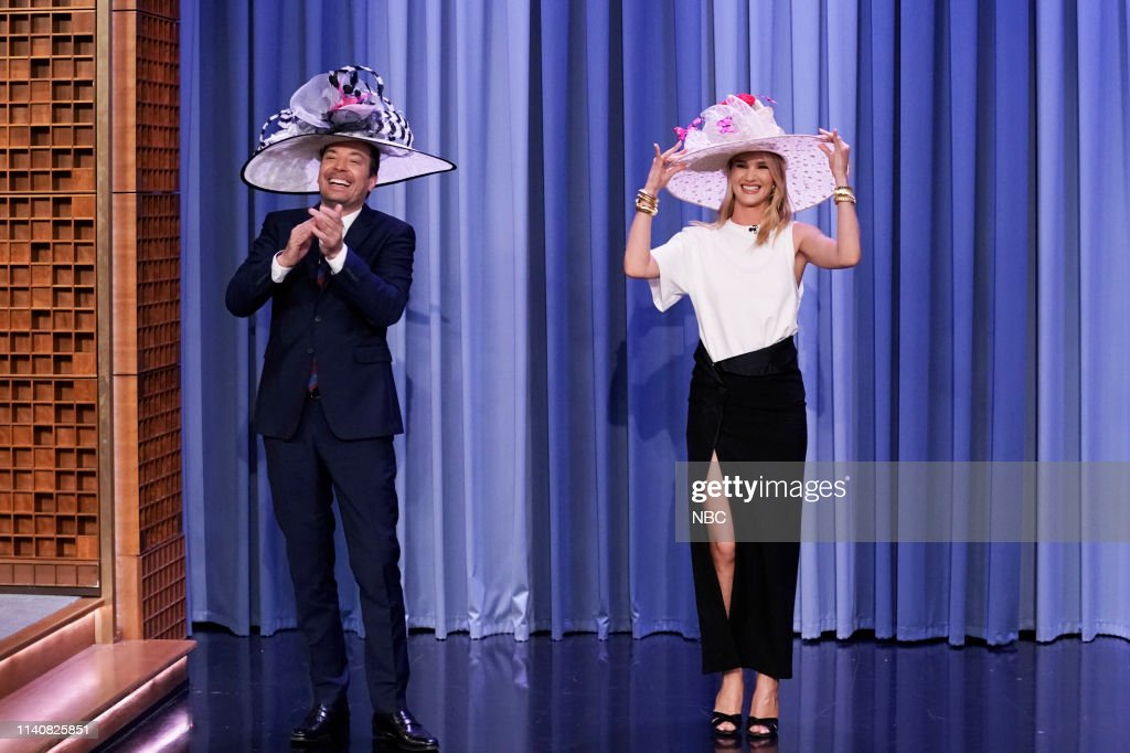 "NY: NBC'S ""Tonight Show Starring Jimmy Fallon"" With Guests Ryan Reynolds, Rosie Huntington-Whiteley, KEVIN ABSTRACT"