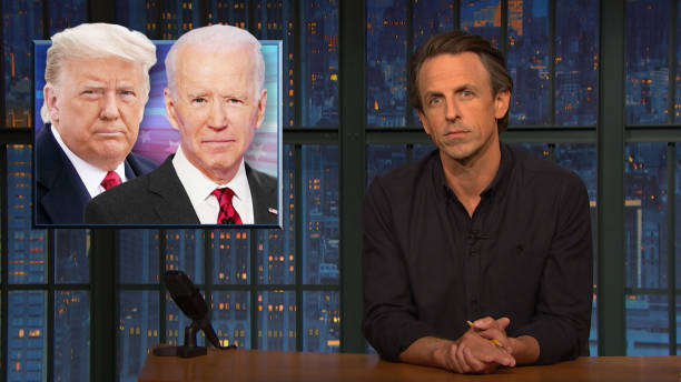 """NY: NBC's """"Late Night With Seth Meyers"""" With Guest Leslie Jones"""