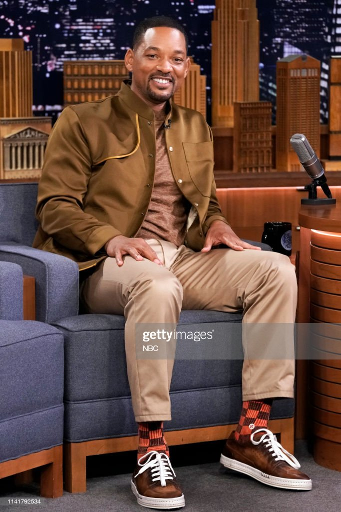 "NY: NBC'S ""Tonight Show Starring Jimmy Fallon"" With Guests Will Smith, Laurie Metcalf, Phil Hanley"