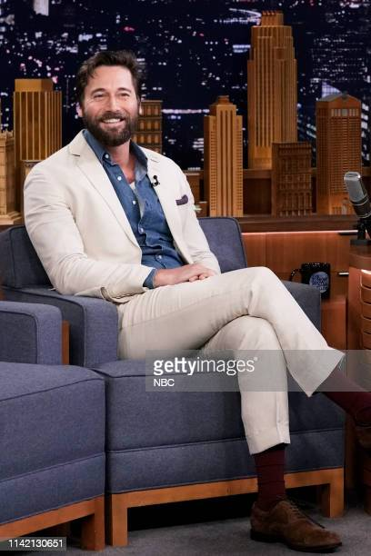 Episode 1063 -- Pictured: Actor Ryan Eggold during an interview on May 7, 2019 --