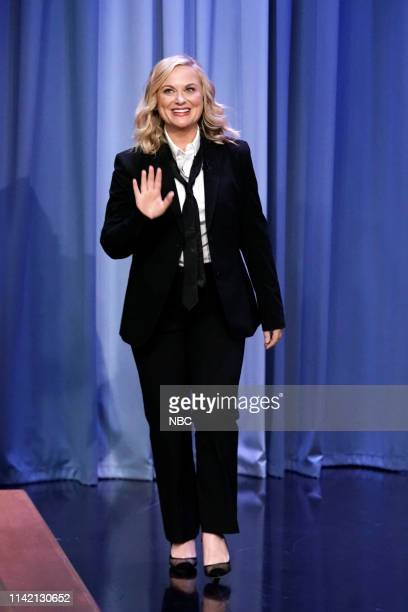 Actress Amy Poehler arrives to the show on May 7 2019