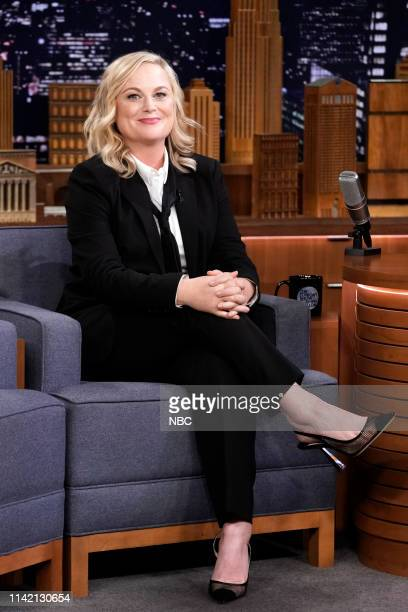 Actress Amy Poehler during an interview on May 7 2019