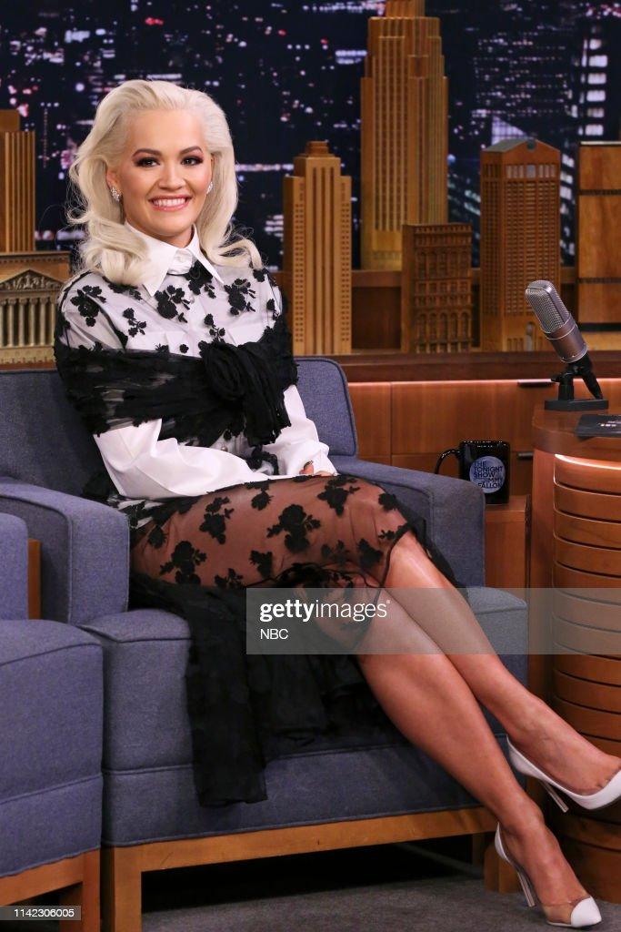 "NY: NBC's ""Tonight Show Starring Jimmy Fallon"" with Guests Maya Rudolph, Rita Ora, KYGO & RITA ORA"