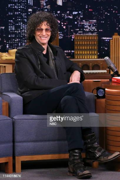 Radio Personality Howard Stern during an interview on May 15 2019