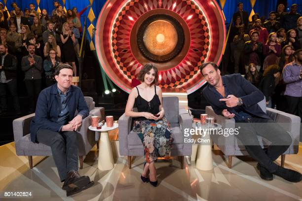 SHOW Episode 107 Celebrity judges Ed Helms Alison Brie and Will Arnett are set to praise critique and gong unusually talented and unique performers...