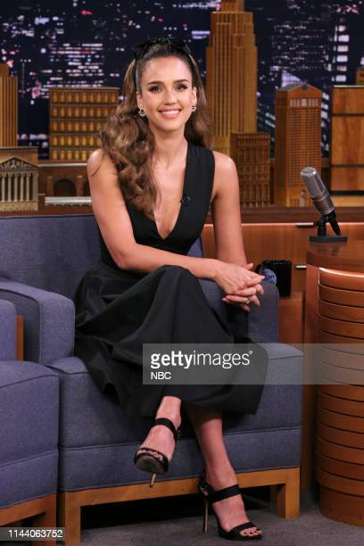 Episode 1070 -- Pictured: Actress Jessica Alba during an interview on May 16, 2019 --