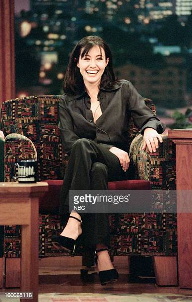 Actress Shannen Doherty during an interview on January 10 1997