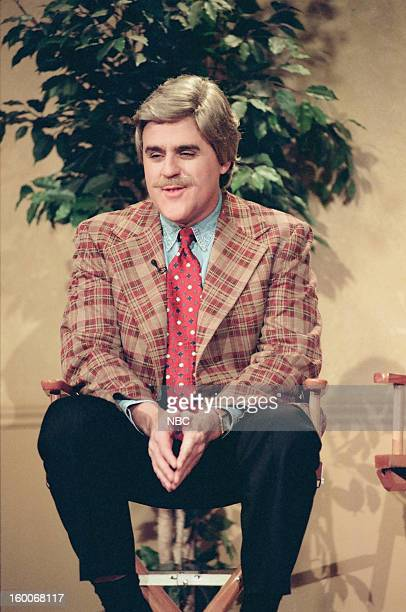 Host Jay Leno during a skit on January 10 1997