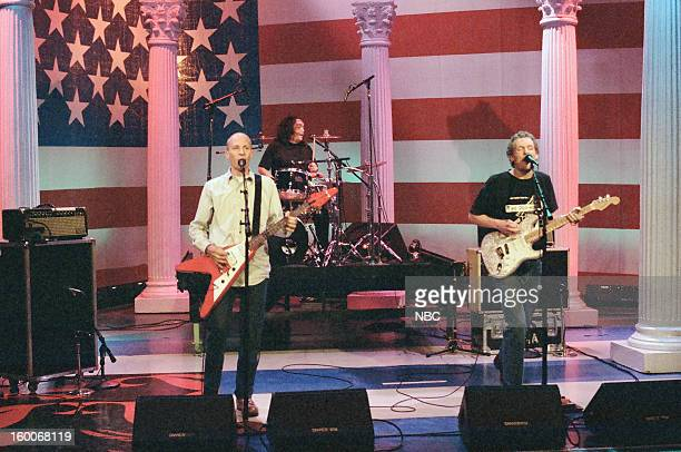 Musical guests The Presidents of the United States of America perform on January 10 1997