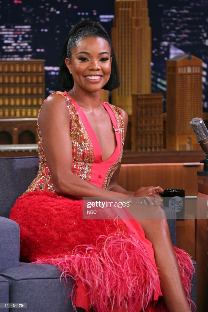"""NY: NBC's """"Tonight Show Starring Jimmy Fallon"""" With Guests Gabrielle Union, DJ Khaled"""